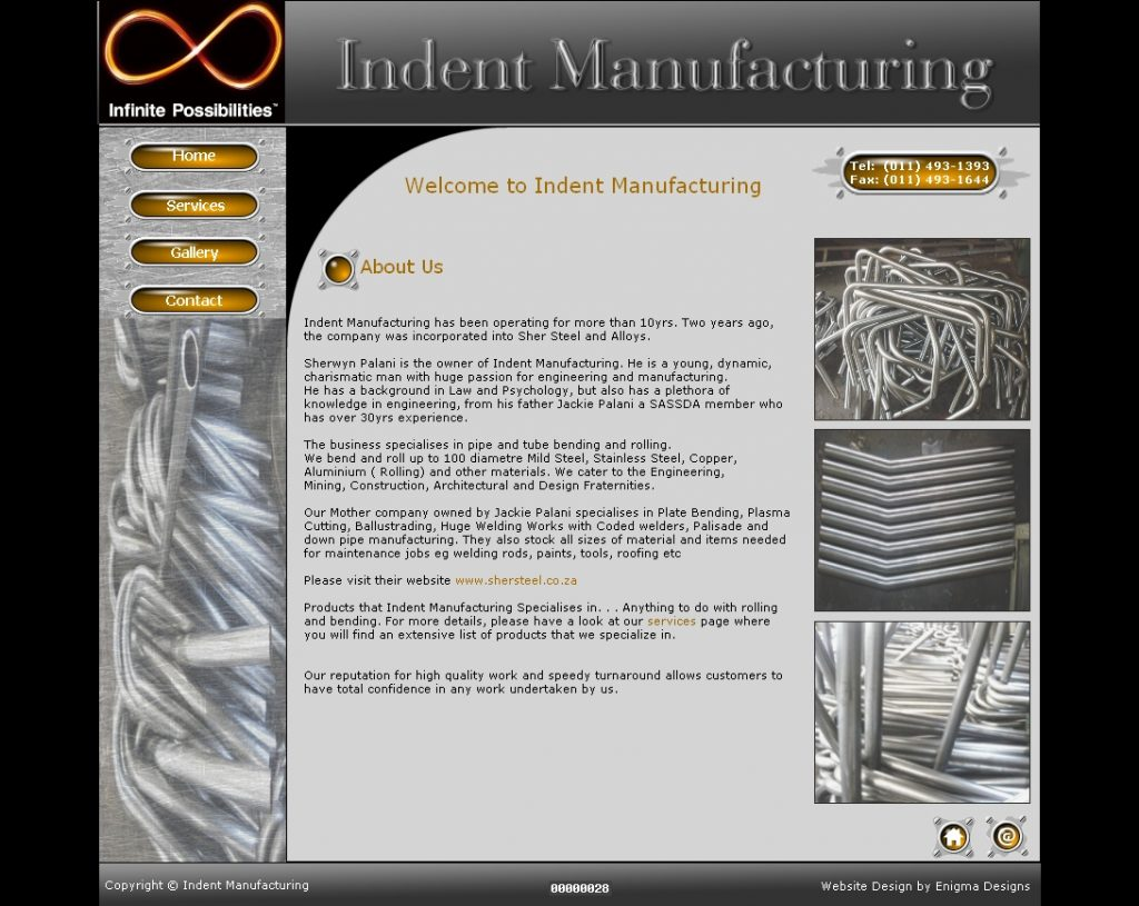 Indent Manufacturing