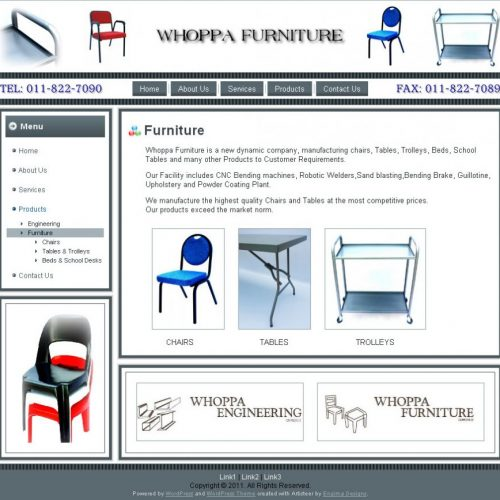 Furniture Categories Page