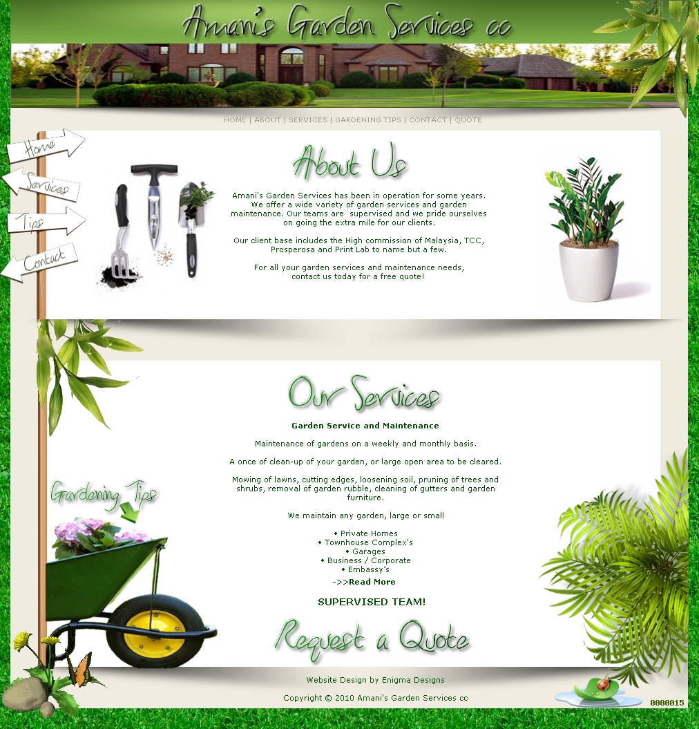 Amani's Garden Services