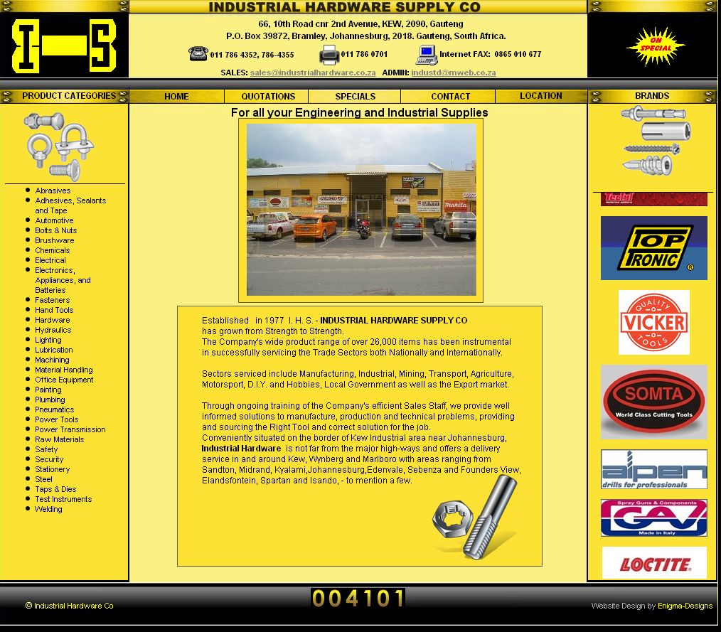Industrial Hardware Supply Company