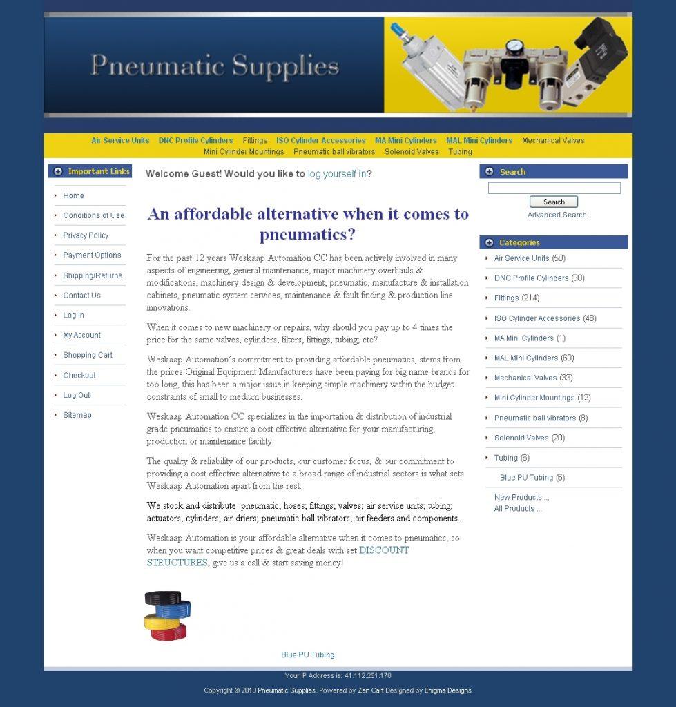 Pneumatic Supplies