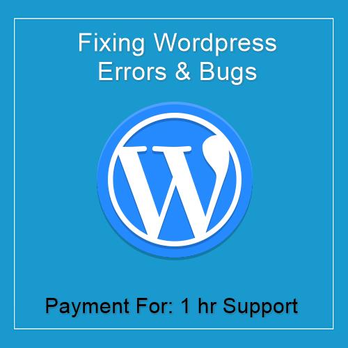 Fixing Wordpress Errors 1