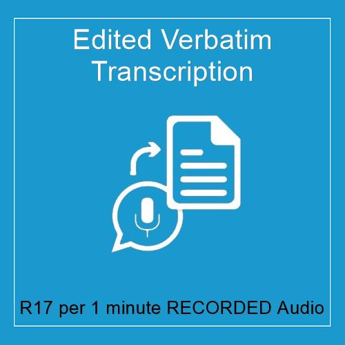 edited verbatim