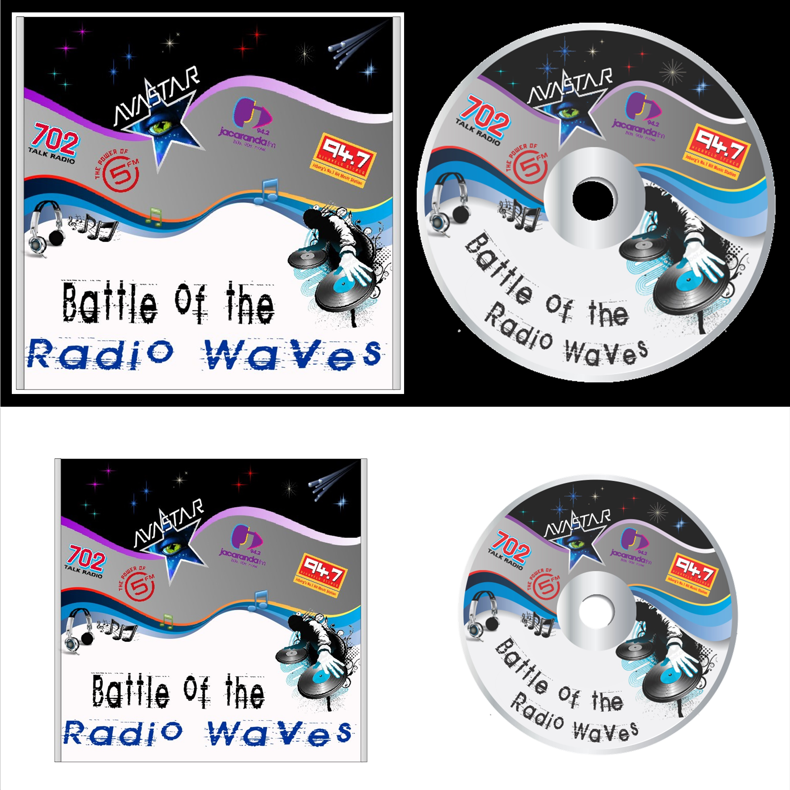 Avastar Nightclub CD & CD Cover Design 1