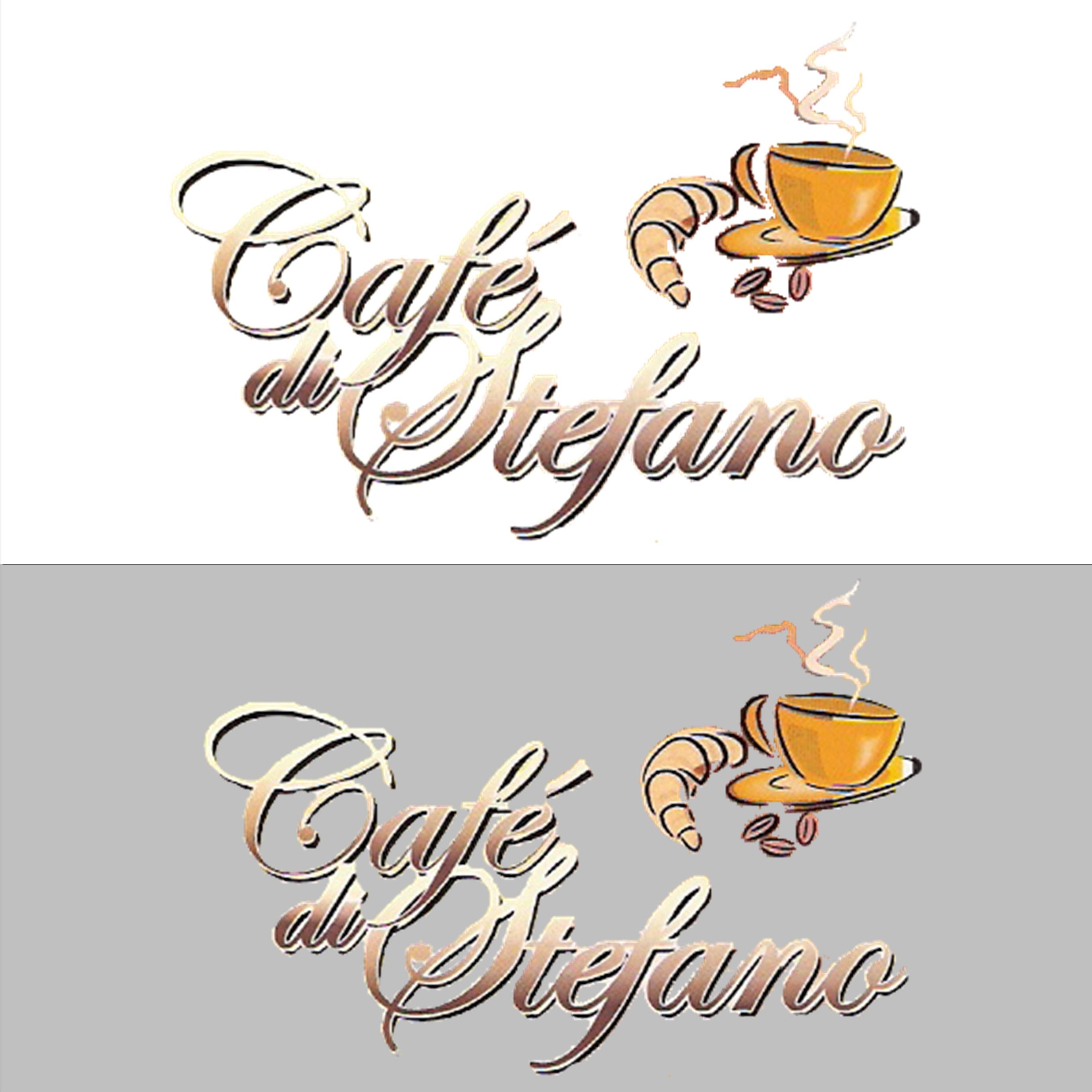 Cafe di Stefano Logo Design 1