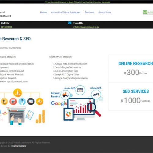 Single Service Page
